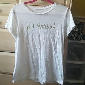 KATE SPADE bride shirt